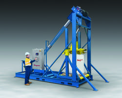 New Bulk Bag Filling System Fills Material by Weight into Bulk Bags
