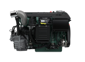 New D4 and D6 Marine Engines Available from 150-480 hp