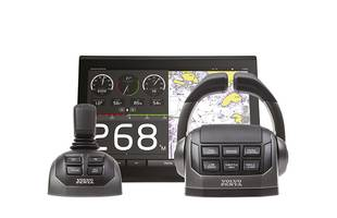 Volvo Penta Introduces the New EVC System with Dynamic Positioning System