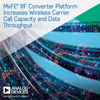 New D9081 and AD9082 MxFE Devices Integrate 8 and 6 RF Data Converters Respectively