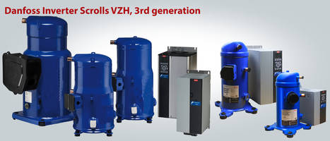 Danfoss Releases VZH Variable-Speed Scroll Compressors with Manageable Acoustic Level