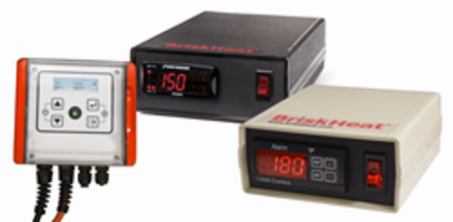 BriskHeat Offers New Temperature Controllers with Fast-Adaptive-Tuning Technology