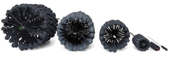 New CrossFlex Honing Brushes Compatible with Water-soluble and Synthetic Coolants