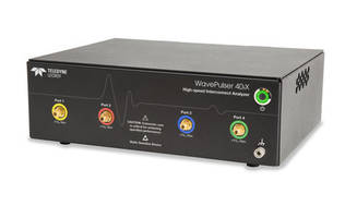 New WavePulser Interconnect Analyzer Combines the Time and Frequency Domains in One Instrument