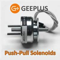 Geeplus Push/Pull Solenoids Approved for Aviation