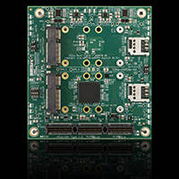 New PCIe/104 Carrier Modules Designed to Support up to Four PCI Express Mini Cards