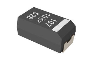 New Tantalum Polymer Surface Mount Capacitor Features Single Digit ESR