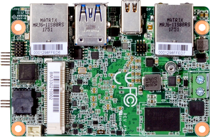 New Micro SBC MB-5000 Supports Microsoft Windows 10 IoT Enterprise 64-bit and Linux Ubuntu 16.04