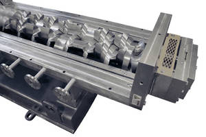 New Continuous Processor Features Replaceable Liners as well as Hardened Screws and Paddles