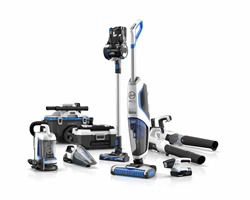 New HOOVER ONEPWR Cordless System Features Nine Cord-free Cleaning Products