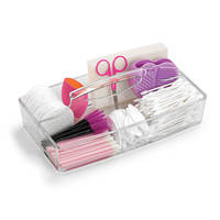 Qosmedix Now Offers Cosmetic Caddy Featuring two Rectangular Compartments with Carrying Handle
