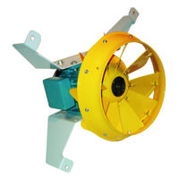 New MNC Mixed Flow Cooling Fans Features Non-stall Airflow Properties