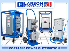 New Portable Power Distribution Enables Operators to Power a Variety of Devices from Multiple Receptacles