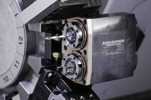New Two-Collet Chuck Delivers Speed up to 10,000 rpm with 1:1 Ratio
