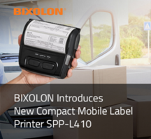 New SPP-L410 Mobile Label Printer Supports 112mm and Optional 105mm Media Widths