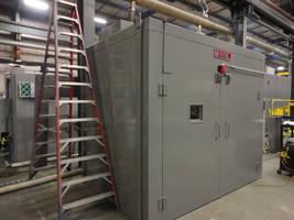 Wisconsin Oven Ships Pre-heating Batch Oven to Automotive Industry