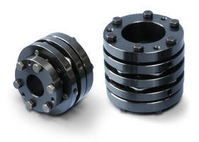 New Couplings from Miki Pulley Feature Disk Spring Design that Provides High Torsional Rigidity and Axial Flexibility