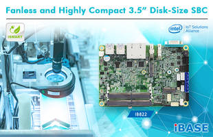 New IB822 3.5-inch SBC Features Onboard Pentium Silver and Celeron SoC