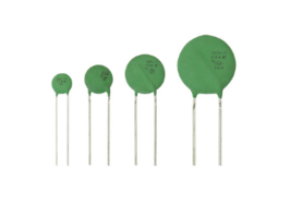 New VDR Metal Oxide Varistors Available in 7mm, 10mm, 14mm and 20mm Sizes