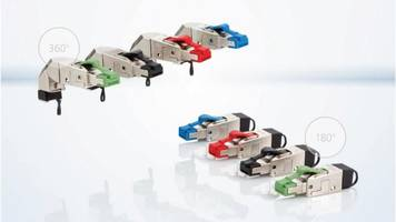 New RJ45 Field Plug Pro with High Data Transmission Rates up to 40 GBit/s