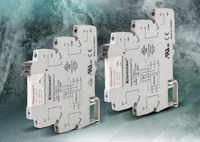 New Slim Interface Electro-Mechanical Relays Available with DC and AC Supply Voltage Options