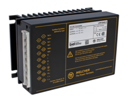 New Melcher LR Series AC-DC Cassette Converters are Designed for Railway and Rugged Industrial Applications