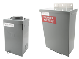 New LC-MM08-5512 and LC-2MMX8-4472 Enclosures Feature Configurable DIN-rail Branch Breakers