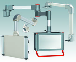 New Three IP 54 Modular Suspension Arm Systems for Industrial Electronics Applications