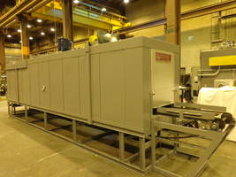 Wisconsin Oven Ships Top Flow Conveyor Oven to Manufacturer In Machinery Industry