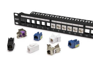New Unloaded Patch Panels are Suitable for Residential and Small Office Applications