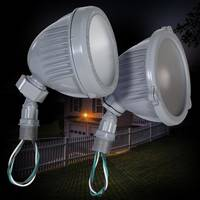 New LED Swivel Floodlights from Bell are Used in Outdoor Wet Locations