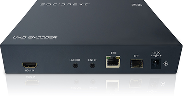 New X500E Encoder Unit from Socionext is Ideal for Broadcast Level Video Quality