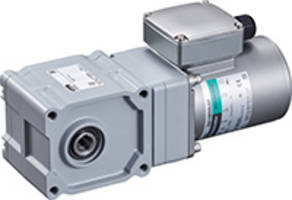 New Three-phase AC Induction Motors with High Strength Right-angle Hypoid Gearhead