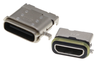 New Waterproof USB Connectors are Available with Ingress Protection Ratings of IP67