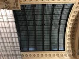 Chicago Union Station's Renovated Great Hall Features New Skylight Finished by Linetec