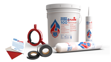 New HydroFlame Firestop Products Provide Flame, Gas and Liquid Intrusion Protection