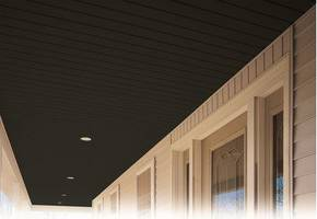 New Black Vinyl Soffit Offers Attractive and Low-Maintenance Option for Porch Ceilings