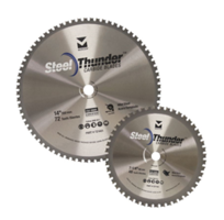 New Steel Thunder Metal Cutting Carbide Blades are Designed to Cut Mild and Thin Mild Steel