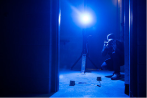 New Forensic Lighting Sources Come with Forensic Goggles, Charger, and Protective Case