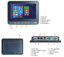 New GOT107W-319 Features Programmable OSD Function Keys