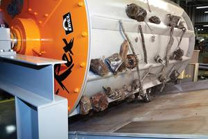 Customer Results Prove Eriez® P-Rex® Rare Earth Scrap Drums Provide 50 Percent Greater Recovery of Ferrous Metals from Bottom Ash Compared to Conventional Scrap Drums