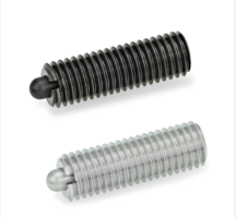 New GN 616.1 Spring Plungers for Blind Hole Applications
