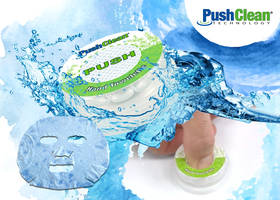 PushClean Container from AJG Packaging is Made of Polypropylene Packaging Materials
