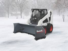 New POWER PUSHER TE Snow Pushers Features Steel Trip-edges to Deliver Cleaner Scrapes