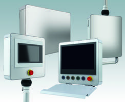 New profiPANEL HMI/Control Enclosures from Rolec are IP 65 rated
