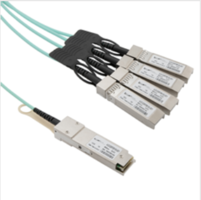 New Active Optical Cables Comes with Integrated Transceiver Types SFP+, SFP28, QSFP+ and QSFP28