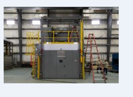 Wisconsin Oven Ships Gas Fired Batch Oven to the Aerospace Industry