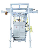 Sinto America Delivers a Y Track Spinner Hanger Blasting Machine