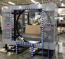 New Smart Controls Allow Wrapping Process Automation for Packaging, Shipping and Material Handling