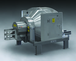 New Sanitary Rotary Batch Mixer with Internal Spray Line